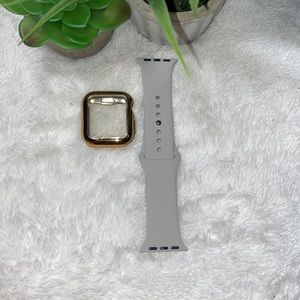 38/40mm Gold and Gray Apple Watch Pack